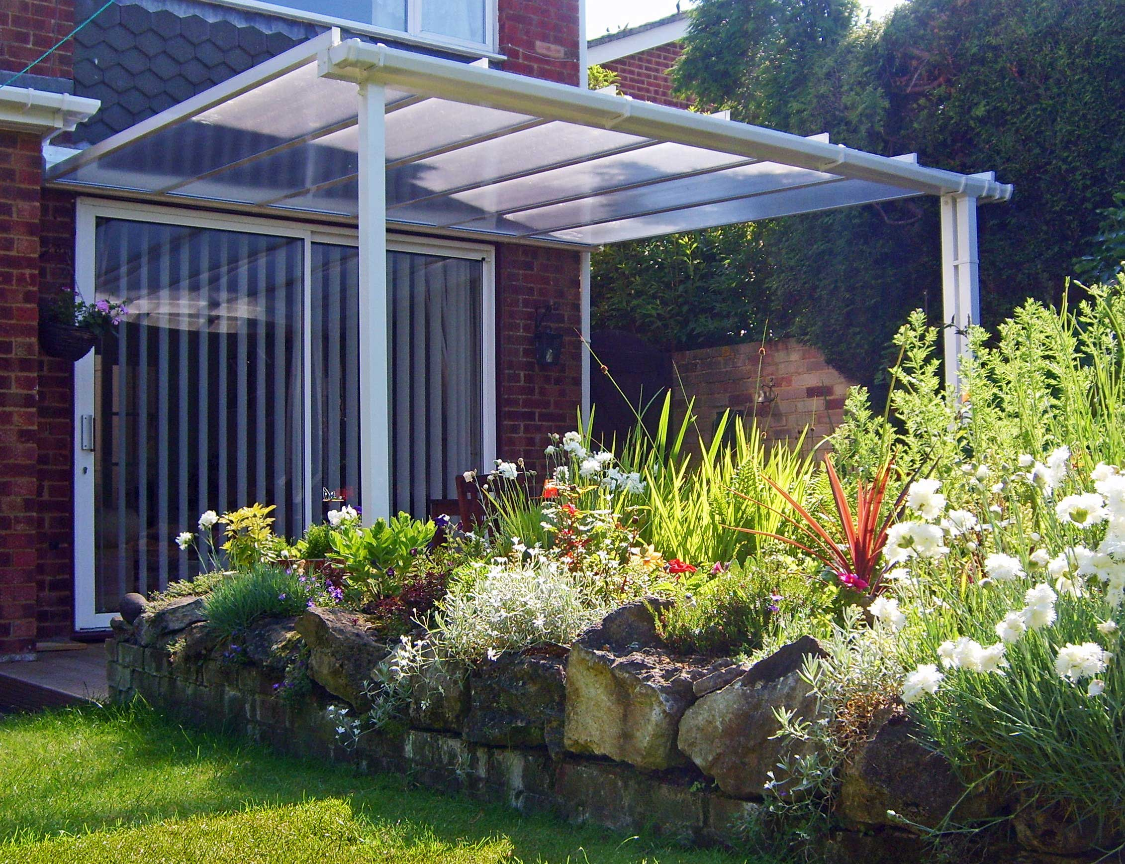 home style canopies patio covers car ports caravan or motorhome shelter. Black Bedroom Furniture Sets. Home Design Ideas